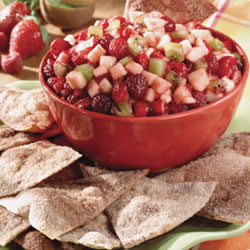 Annie's Fruit Salsa and Cinnamon Chips – Tiny Green Mom