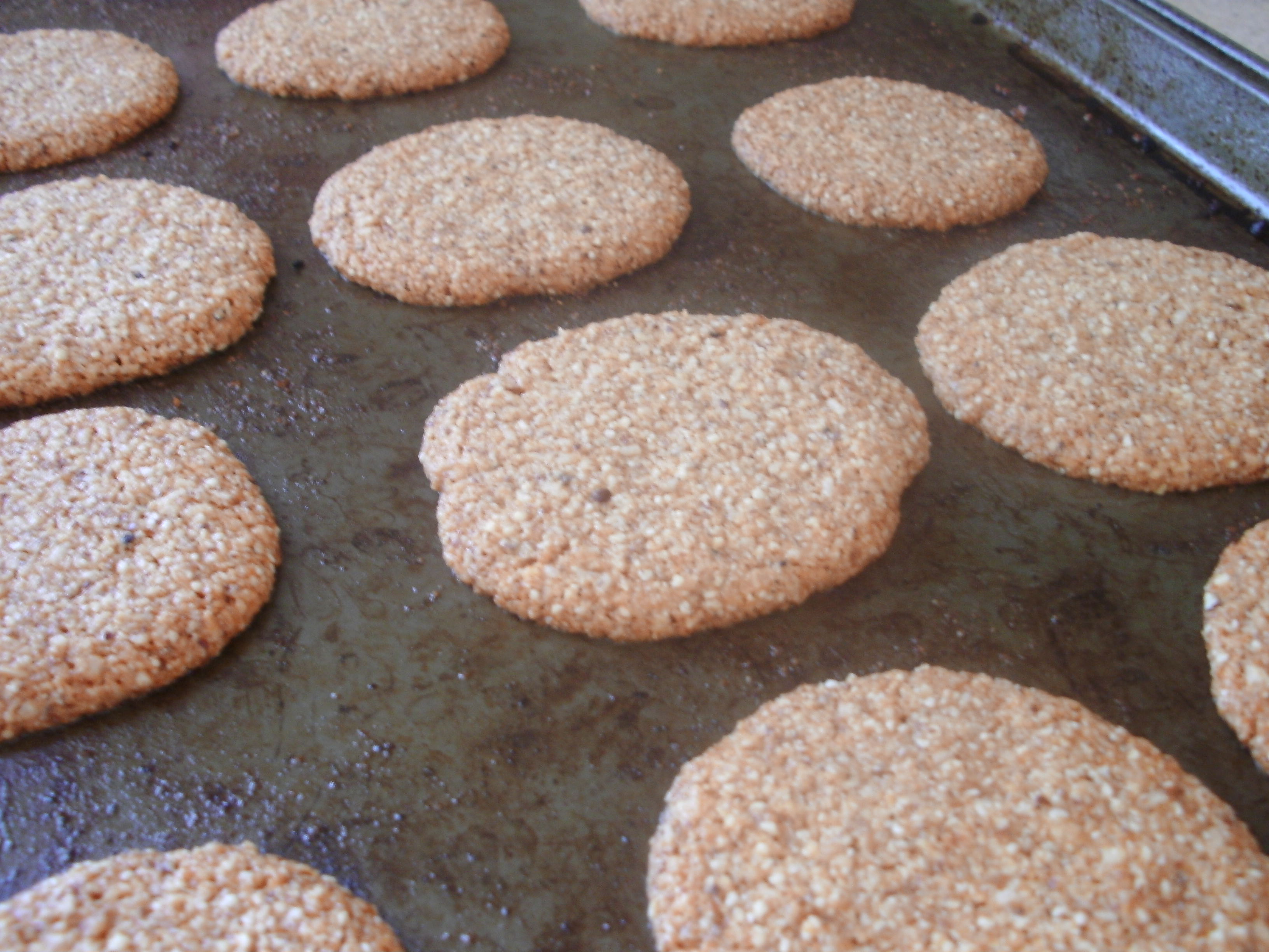 Almond Meal Cookies Tiny Green Mom