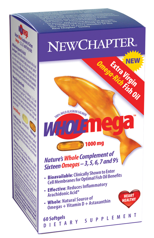 New chapter wholemega 1000mg dietary supplement for New chapter wholemega fish oil