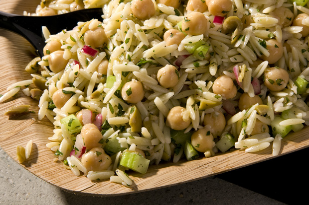 Celery and Olive Orzo Salad Recipe