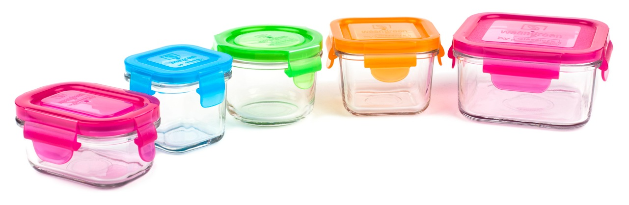 Baby Food Glass Containers Jervis George Glass Baby Food Storage