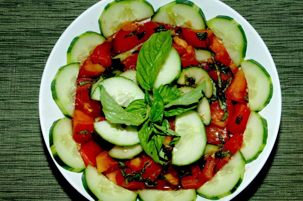 Tomato, Cucumber, Purslane Salad Recipes — Dishmaps