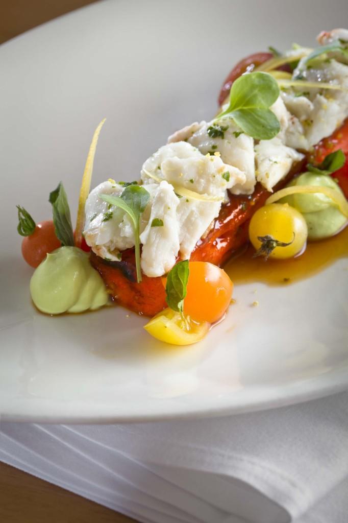 Jumbo Lump Crab Salad With Seared Watermelon Tiny Green Mom