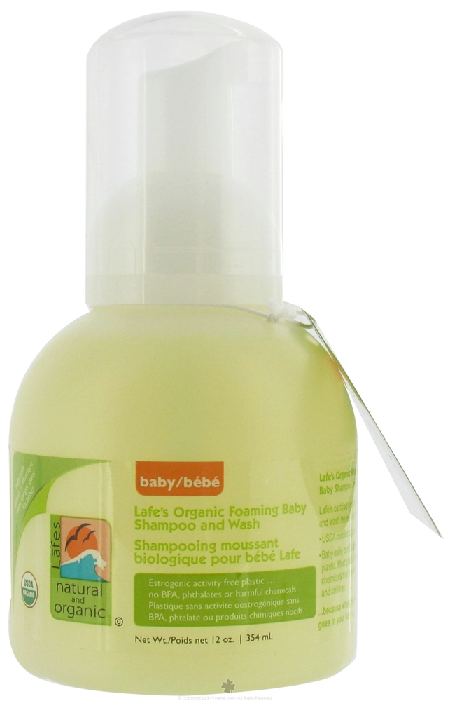 Lafes Organic Shampoo & Wash