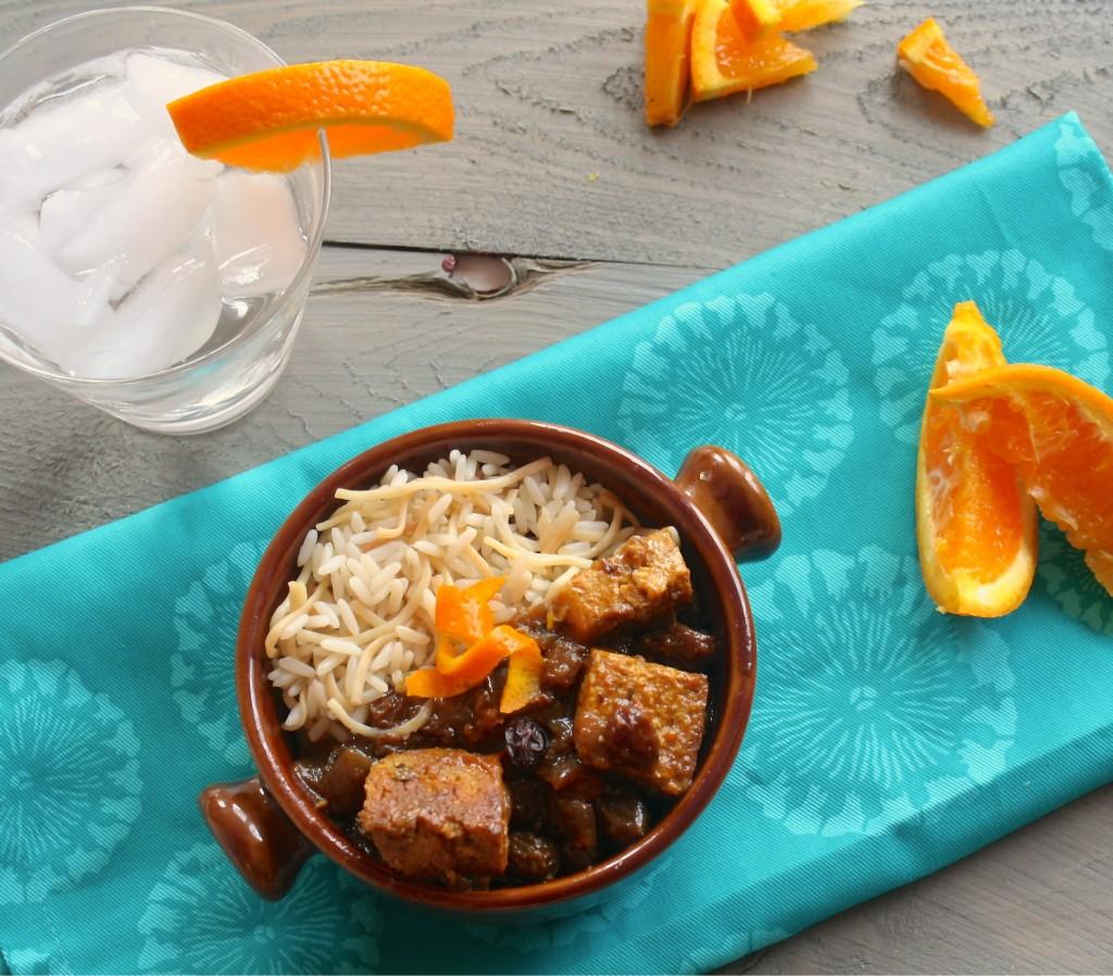 Tofu a l'orange