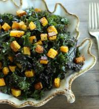 Rubbed Butternut Squash & Kale