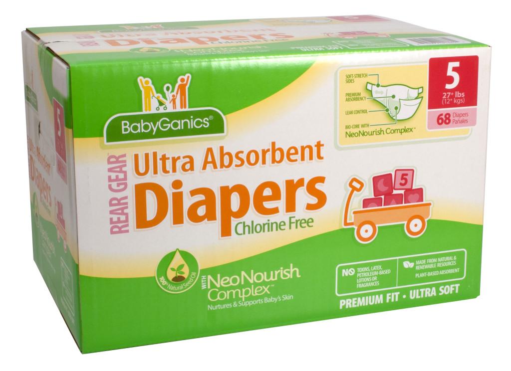 BabyGanics Diapers 1