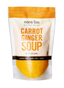 Nona Lim Carrot Ginger Soup