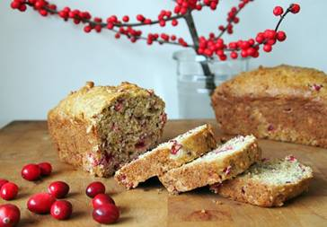 Pear &Cranberry Loaf