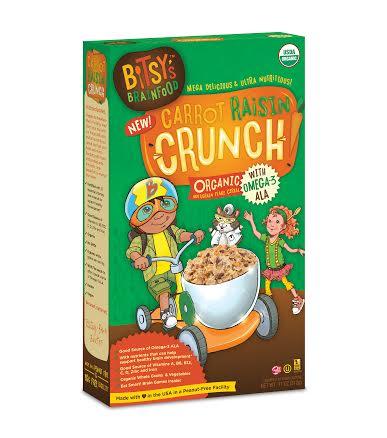 Bitsy's Carrot Raisin Crunch