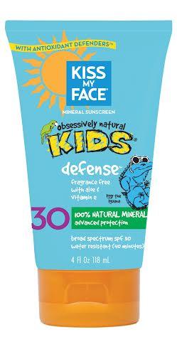 Kiss My Face Kids Defense Lotion