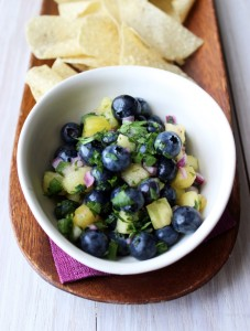 Blueberry Pineapple Salsa 1