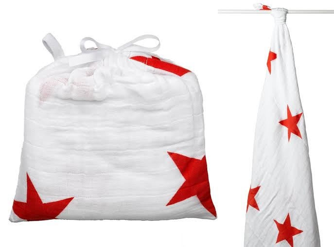 classic swaddle single radiant red product