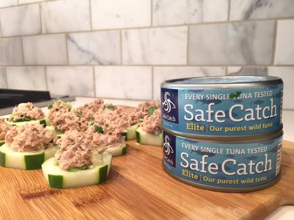 Cucumber and Tuna