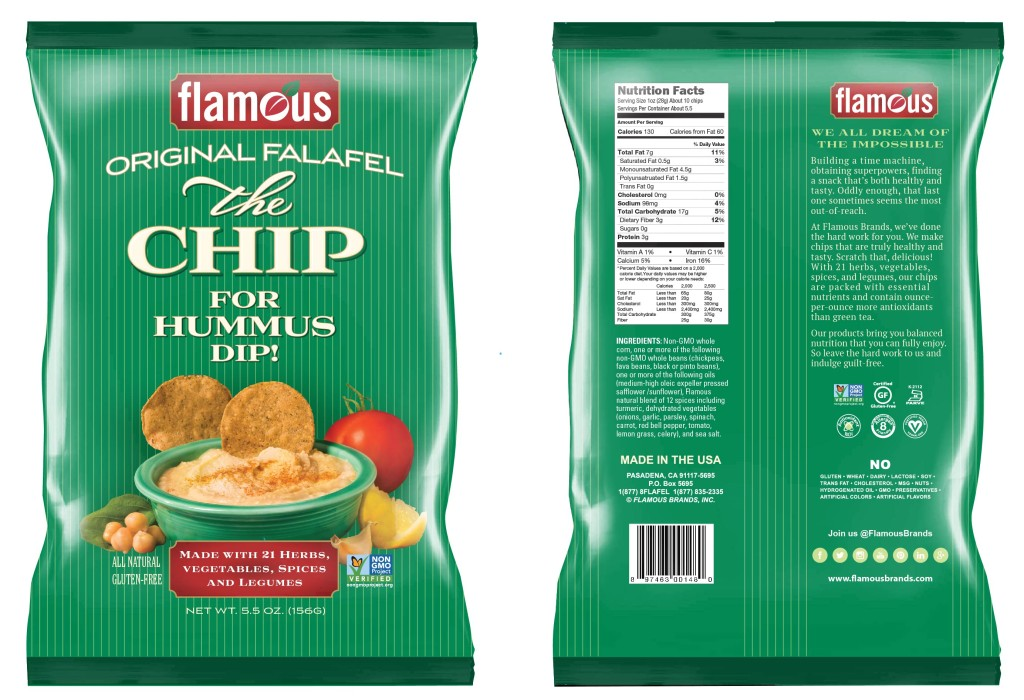 Flamous Brands - Original Falafel