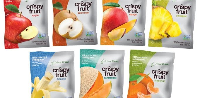 Crispy Greens Crispy Fruit Group
