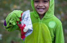 Crispy Greens Trick or Treater