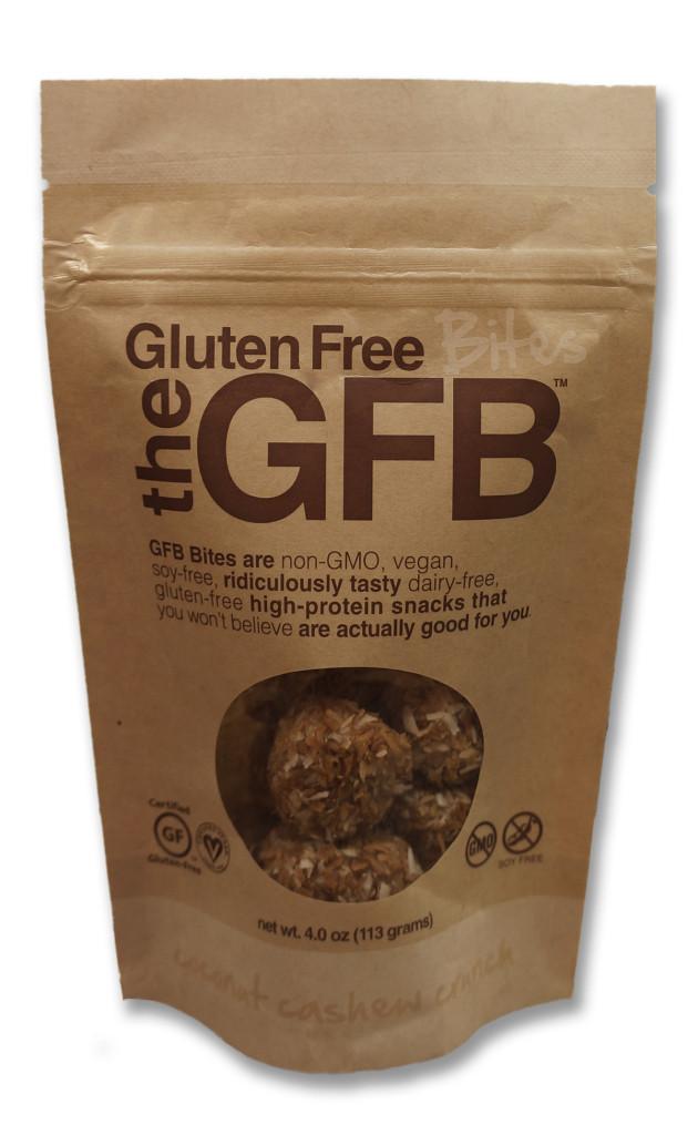 Gluten Free Bites - Coconut Cashew Crunch
