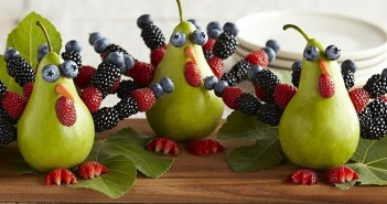 A Pear of Berry Turkeys