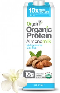 Orgain Almond Milk Sweetened