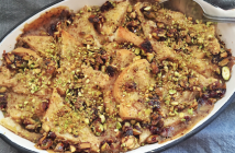 Pistachio Chewy Bite Bread Pudding low res