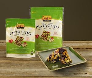 Pistachio Chewy Bites