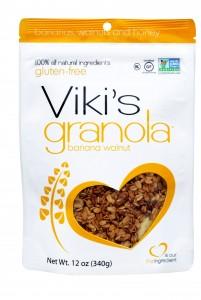 Viki's Granola Banana Walnut