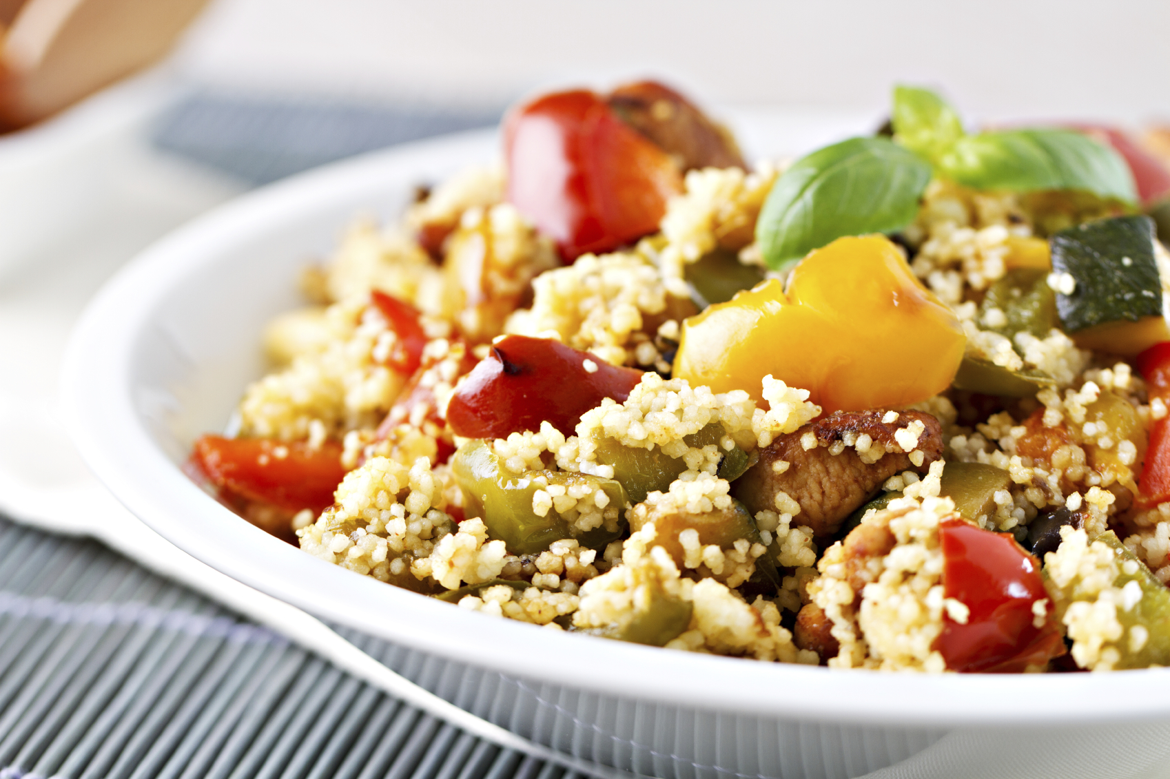 Warm Moroccan Spiced Couscous Salad