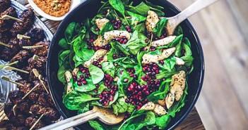 Sencha Spinach Salad