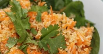 quinoa and carrot salad