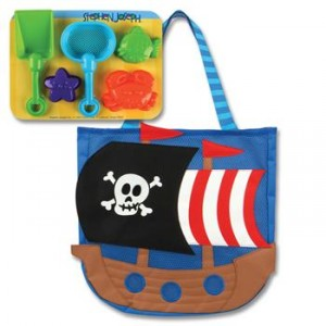 Stephen Joseph Pirate Beach Tote