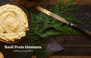 Kefir - Basil Pesto Hummus