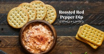 Kefir - Roasted Red Pepper Dip