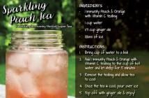 Sparkling Peach Recipe