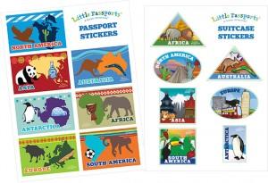 Little Passports Stickers