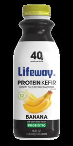 Lifeway Protein Kefir Banana